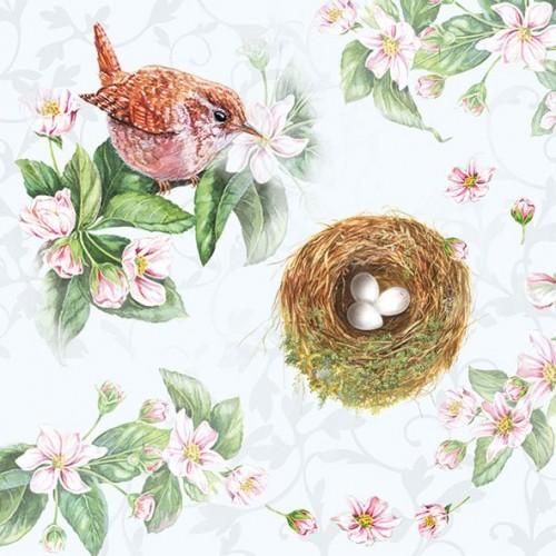 German Decoupage Napkins (5 pcs)  - Watching Nest