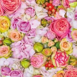 German Decoupage Napkins (5 pcs)  - Bed of Roses