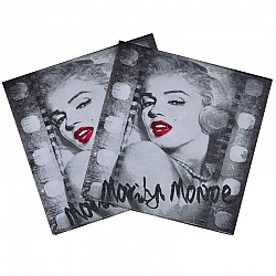 A pack of 12 by 12 inch Decoupage Napkins(5 pcs)  - Marilyn Monroe CADN-27