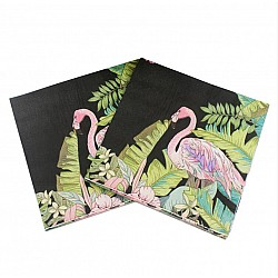 A pack of 12 by 12 inch Decoupage Napkins(5 pcs)  - Tropicals