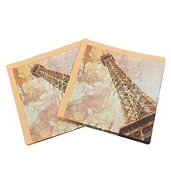 A pack of 12 by 12 inch Decoupage Napkins(5 pcs)  - Old Paris