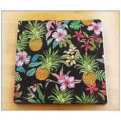 A pack of 12 by 12 inch Decoupage Napkins(5 pcs)  - Tropical Background