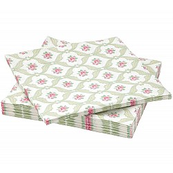 A pack of 12 by 12 inch Decoupage Napkins (5 pcs)  - Floral Pattern