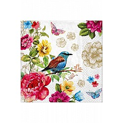 A pack of 12 by 12 inch Decoupage Napkins(5 pcs)  - Nature
