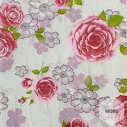 A pack of 12 by 12 inch Decoupage Napkins (5 pcs)  - Floral Background