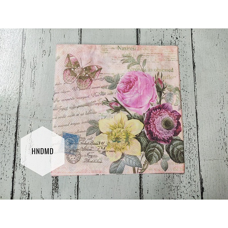 Buy A Pack Of 12 By 12 Inch Decoupage Napkins Decoupage