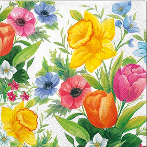A pack of 13 by 13 inch Decpoupage Napkin Paper (SDL090300) - Set of 5 pcs