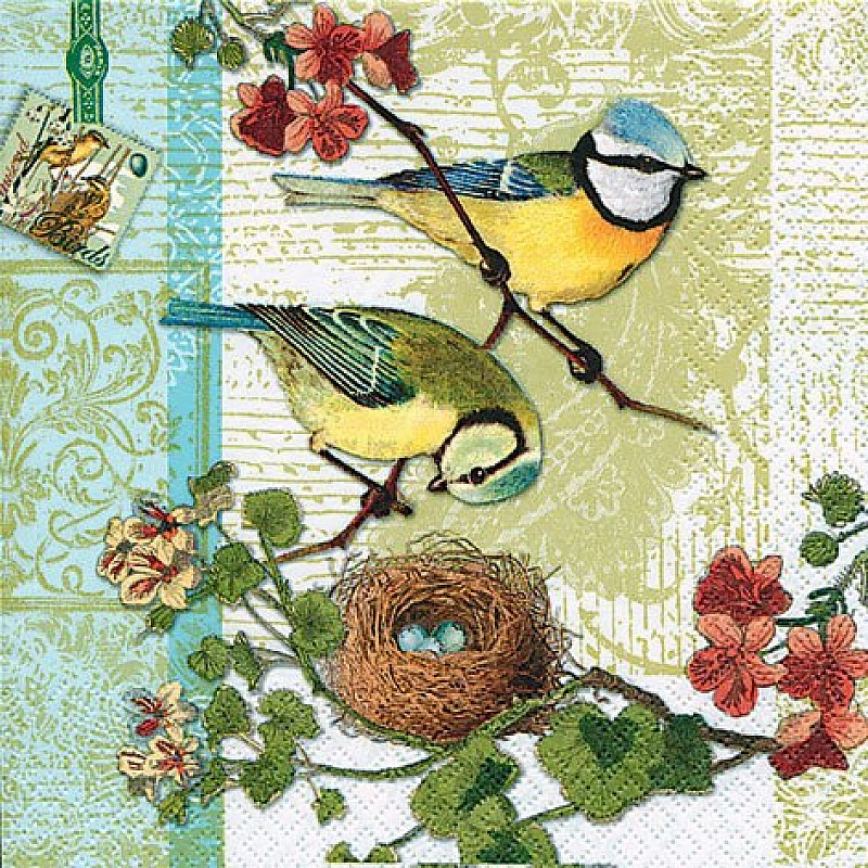 Buy A Pack Of 12 By 12 Inch German Decoupage Napkins 5