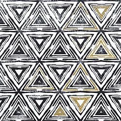 A pack of 12 by 12 inch German Decoupage Napkins ( 5 pcs )  - Triangles