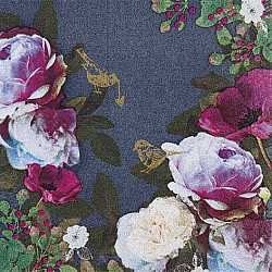 A pack of 12 by 12 inch German Decoupage Napkins ( 5 pcs )  - Opulent Flowers