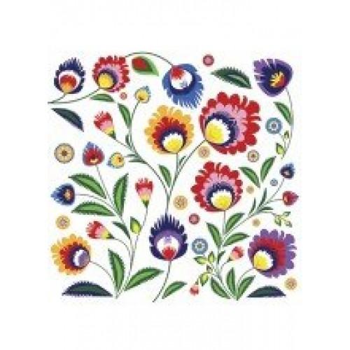 A pack of 13 by 13 inch Decpoupage Napkin Paper (SDL031200) - Set of 5 pcs
