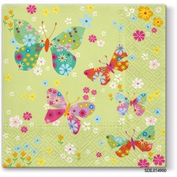 A pack of 13 by 13 inch Decpoupage Napkin Paper (SDL054900) - Set of 5 pcs