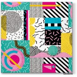 A pack of 13 by 13 inch Decpoupage Napkin Paper (SDL060200) - Set of 5 pcs