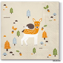 A pack of 13 by 13 inch Decpoupage Napkin Paper (SDL062400) - Set of 5 pcs