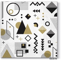 A pack of 13 by 13 inch Decpoupage Napkin Paper (SDL062700) - Set of 5 pcs