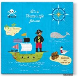 A pack of 13 by 13 inch Decpoupage Napkin Paper (SDL091300) - Set of 5 pcs