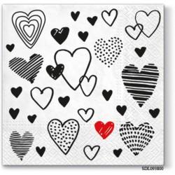 A pack of 13 by 13 inch Decpoupage Napkin Paper (SDL093800) - Set of 5 pcs