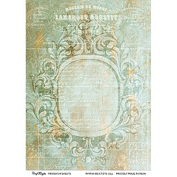 CrafTangles A4 Transfer It Sheets - Patina Background