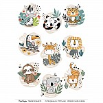 CrafTangles A4 Transfer It Sheets - Cute Animals 1