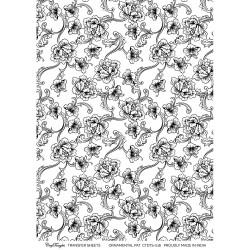 CrafTangles A4 Transfer It Sheets - Ornamental Pattern