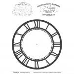 CrafTangles Transfer It Sheets - Vintage Clock