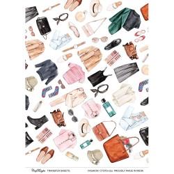 CrafTangles Transfer It Sheets - Fashion