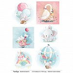 CrafTangles A4 Transfer It Sheets - Cute Animals 2