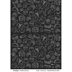 CrafTangles A4 Transfer It Sheets - Food 1