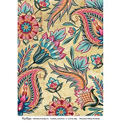 CrafTangles A4 Transfer It Sheets - Floral Exotica 2