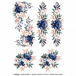 CrafTangles A4 Transfer It Sheets - Spring Flowers 13