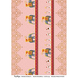 CrafTangles A4 Transfer It Sheets - Indian Wedding 2