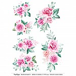 CrafTangles Transfer It Sheets - Spring Flowers 17