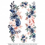 CrafTangles Transfer It Sheets - Spring Flowers 18
