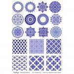 CrafTangles A4 Transfer It Sheets - Colorful Mandalas 7
