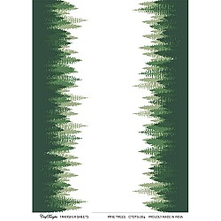 CrafTangles A4 Transfer It Sheets - Pine Trees
