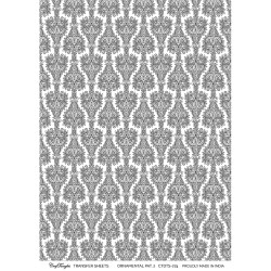 CrafTangles A4 Transfer It Sheets - Ornamental Pattern 2