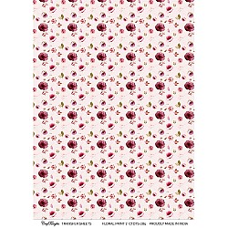 CrafTangles A4 Transfer It Sheets - Floral Print 5