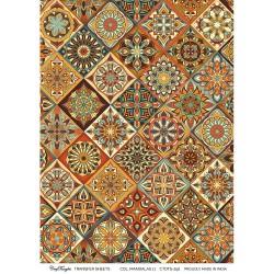 CrafTangles A4 Transfer It Sheets - Colorful Mandalas 11