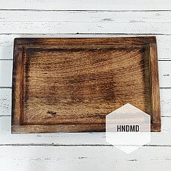 Rectangle Wooden Tray for Decoupage