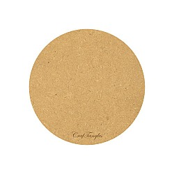 CrafTangles 10 inch 5 mm thick MDF Circle Base