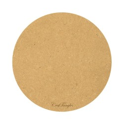 CrafTangles 12 inch 5 mm thick MDF Circle Base