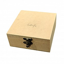 CrafTangles MDF Box (5 by 5 by 2 inches)
