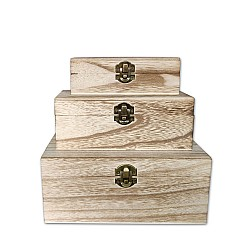Wooden Boxes (Set of 3)