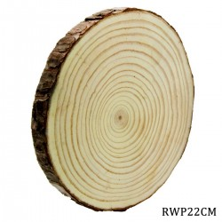 Natural Wooden Slices 22 cm - single piece