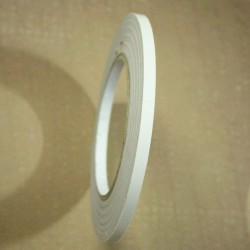 Double Sided tearable scor tape with paper backing (1/4 inch or 6mm by 50 mts)