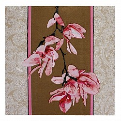 A pack of 12 by 12 inch Decoupage Napkins(5 pcs)  - Floral Design 18