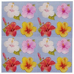 A pack of 12 by 12 inch Decoupage Napkins(5 pcs)  - Floral Design 23