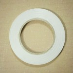 Double Sided tearable scor tape with paper backing (3/4 inch by 50 mts)