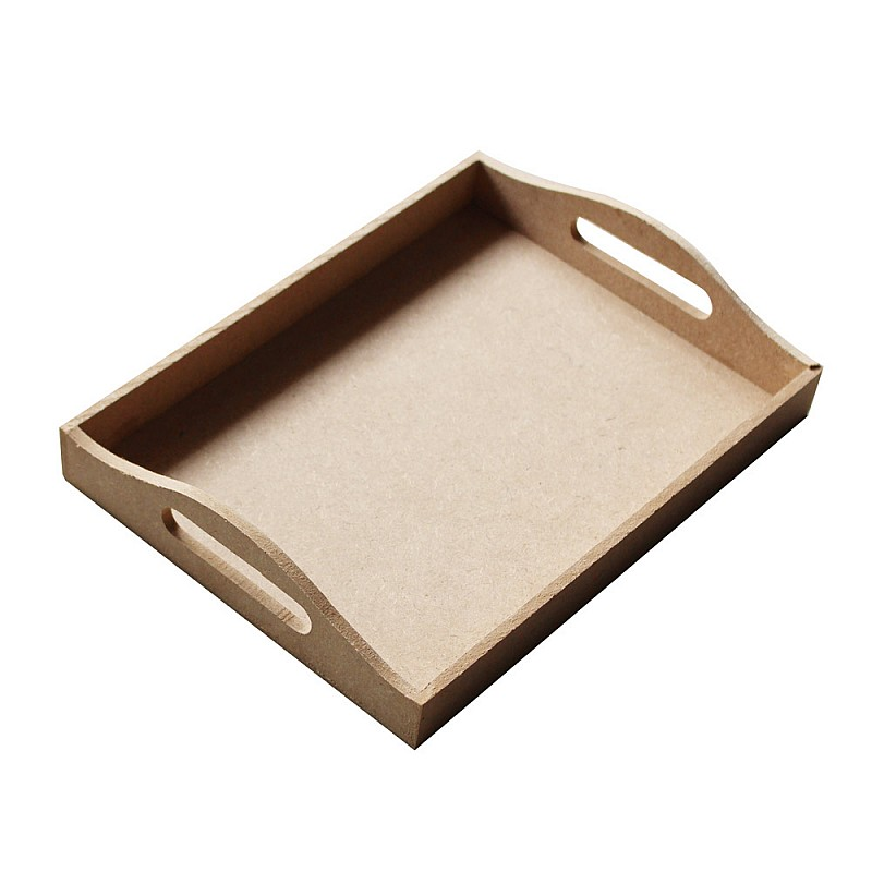Buy Wooden Tray For Decoupage Small Online In India At