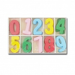 Chipboard Numbers (Large)